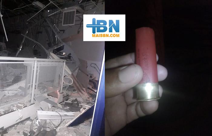 Bandidos fortemente armados assaltam agência da Caixa Econômica em Belmonte. 4