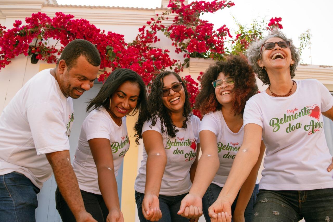 Voluntários criam projeto solidário para incentivar a doação de sangue em Belmonte. 2