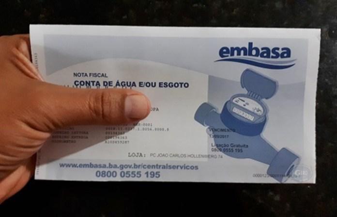 Justiça obriga Embasa a cobrar apenas pelo valor consumido nas ...