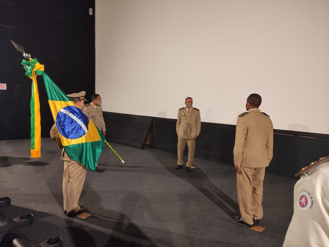 Major Neri assume o comando da 18ªCIPM/Periperi e felicita o novo comandante de Belmonte. 28